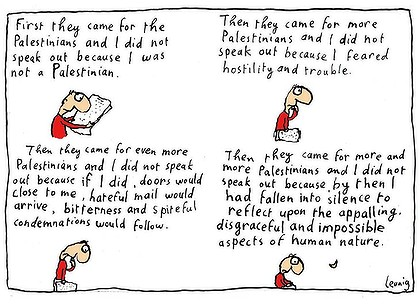 Leunig Palestine cartoon