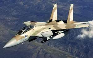 israeli attack jet