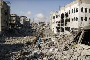 Gaza ruins, 4
