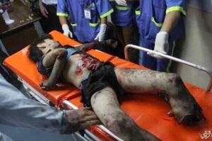 Under the Israeli bombs